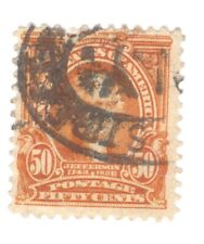 Scott 310 Early US Stamp 50c Jefferson...1902-03...