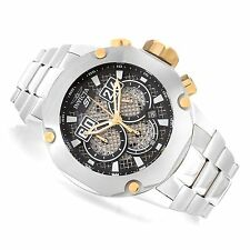 "@New Invicta 52mm S1 ""Twisted Metal"" Chronograph Stainless Steel Bracelet 19429"