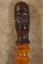 Antique Hand Carved Folk Art Primitive Walking Cane