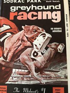 1975 Sodrac Greyhound Program May 12