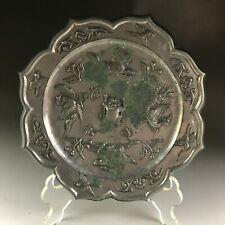 Rare Chinese Sunflower Phoenix bronze Mirror A.D.618-907 Tang dynasty