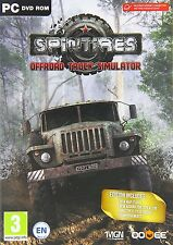 Spintires: Offroad Truck Simulator (PC DVD) (UK IMPORT) Nuovo