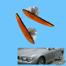 2Pcs L&R Side WIng Fender Turn Signal Lamp Light For BMW E65 E66 745i 750i 760i