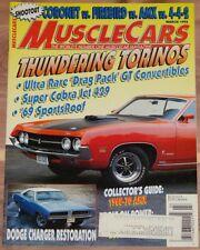 March 1995 Musclecars Magazine 1969 Torino Sportsroof Cobra Jet 429 Drag Pack