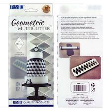 PME géométrique Multicutter de gâteau Glaçage coupeur moyen diamant - 1 pouce
