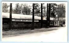 RPPC  PARADISE, California CA ~ BROWN BEAR SKATING RINK 1946 Postcard