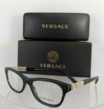 2bd93e22f069 Brand New Authentic Versace Eyeglasses MOD. 3212 GB1 52mm Frame 3212-B Frame