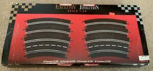 CARRERA EXCLUSIV EVOLUTION 6 CURVES TRACK 20573 IN BOX