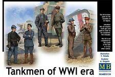 MasterBox MB35134 1/35 Tankmen of WWI era