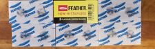 5 Feather Double Edge Razor Blades - USA Seller - SHIPS FAST!!
