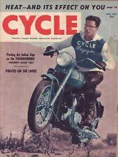 1952 June Cycle - Vintage Motorcycle Magazine