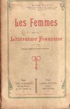 Les Femmes dans la littérature française