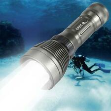 80M Waterproof Underwater 2600Lumen CREE XM-L T6 LED Diving Flashlight Torch JZ