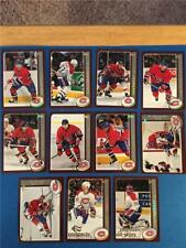 2002/03 Topps Montreal Canadiens Team Set 11 Cards