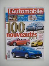 L'AUTOMOBILE magazine 680 MERCEDES CLK 270 CDi-HUMMER H2-HONDA CIVIC-VOLVO S60 R