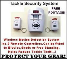 NEW Fishing Tackle Security System for Bivvies,Sheds and more...!