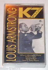 Cassette Audio : Louis ARMSTRONG - What a wonderful world - Mood indigo ...