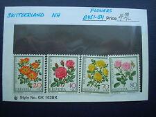 Switzerland, Semi-Postal Stamp, #B451-B454 VF Mint NH, 1977