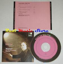 CD MAHLER sinfonia 5 BRUNO WALTER new york philarmonic orchestra lp mc dvd
