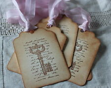 THE KEY TO.....Wedding Wish Tree-Gift Tags-Favours-Beautiful Vintage Style