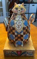 Jim Shore Heartwood Creek figurine Cat Kitten sculpture enesco Abigail