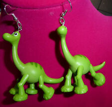 ARLO BIG Earrings 925 SILVER HOOKS The Good Dinosaur MOVIE