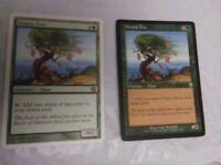 2X Utopia Tree MTG Magic card (1x 9TH EDITION, 1x invasion)  green rare