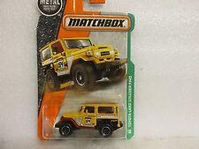 Matchbox TOYOTA LAND CRUISER FJ40 New Sealed on Card