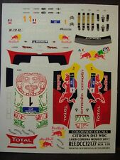 DECALS 1/32 CITROËN DS3 WRC - #1 - S.LOEB - RALLYE MEXICO 2011 - COLORADO  32177