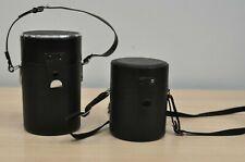 Vintage set 2pcs Camera lens case. Vivitar. Made In Japan
