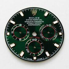 Quadrante ristampato per Rolex Daytona Ceramic ref. 116500LN - verde