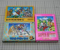 Super Mario Bros. 1,3,USA Set NES Famicom Nintendo FC japan