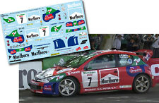 Decal 1:43 Jose Maria Ponce - PEUGEOT 206 WRC - Rally El Corte Ingles 2013