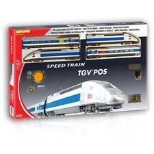 Mehano TGV POS 2 x Locomotives + 2 Cars Starter Pack Brand New HO Railway Train