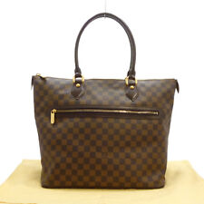 Authentic LOUIS VUITTON Saleya GM Tote Bag Damier Ebene Canvas N51181 #S208060