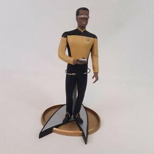 "Star Trek The Next Generation 10"" Geordi La Forge Vinyl Figure 1992 Hamilton"