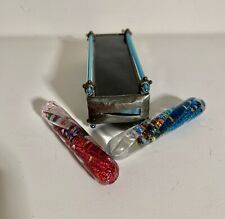 Stained Glass Kaleidoscope The Sea Parrot Artisan Sue Rioux Wanda 2004 Retired