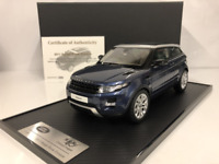 Range Rover Evoque 2011 Baltic Blue 1:18 Scale Century Dragon New Boxed