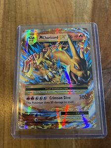 Mega M Charizard EX 13/108 Ultra Rare (PACK FRESH)Evolutions Pokemon Card