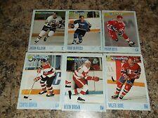 1993-94 CLASSIC HOCKEY DRAFT # 18 VALERI BURE Hockey Card
