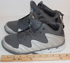 AND1 ASSIST Grey/Silver Tennis Shoes Size 5 Mens or Youth