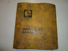 Caterpillar 992 Wheel Loader Disassembly Assembly Power Train Service Manual SET