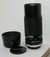 Tamron 70-210mm 46A Telephoto Zoom Macro Lens & Canon FD Adapter Fit AE-1 A-1