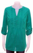 Per Una Hip Length Cotton 3/4 Sleeve Tops & Shirts for Women