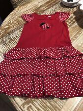 Girls Size 7 - Gymboree Red Ladybug Dress (Small Smudge Near Ladybug See Photos)