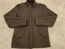 GENUINE BARBOUR POWELL Thick QUILTED Classic DESIGNER Coat / Jacket SIZE LARGE L
