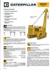 Equipment Brochure - Caterpillar - 561D - Pipelayer - c1980 - Pipeline (E3667)