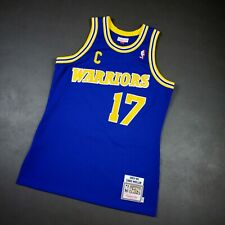 100% Authentic Chris Mullin Mitchell Ness 93 94 Warriors Jersey Size 40 M Mens