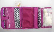 Conair Travel Cosmetic Bag Makeup Organizer Pouch Print Pocket Hanging Storage