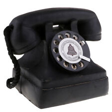 Antique Home Telephone Retro Vintage Old Fashioned Home Dial Phone 7111-13